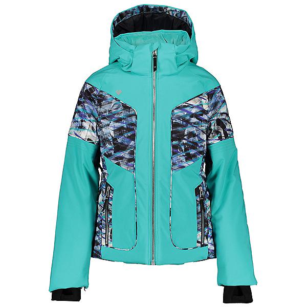 Obermeyer Rayla Girls Ski Jacket 2021, Off Tropic, 600