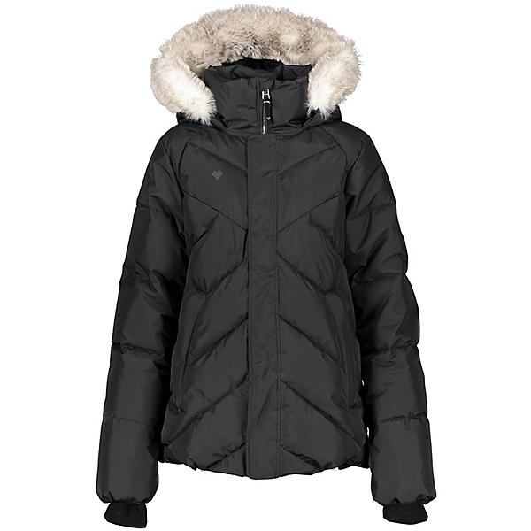 Obermeyer Meghan Girls Ski Jacket 2021, Black, 600