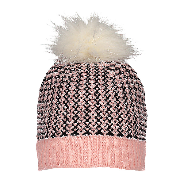 Obermeyer Tucson Faux Fur Pom Kids Hat 2021, Cheeky, 600