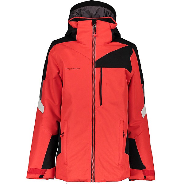Obermeyer Fleet Boys Ski Jacket 2021, Red, 600