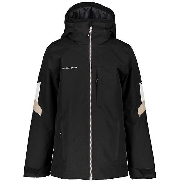 Obermeyer Fleet Boys Ski Jacket 2021, Black, 600