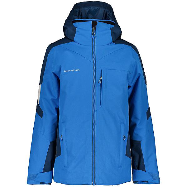 Obermeyer Fleet Boys Ski Jacket 2021, Blue Vibes, 600