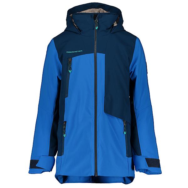Obermeyer Axel Boys Ski Jacket 2021, Blue Vibes, 600