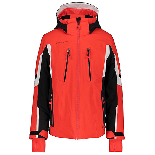 Obermeyer Mach 11 Boys Ski Jacket 2021, Red, 600