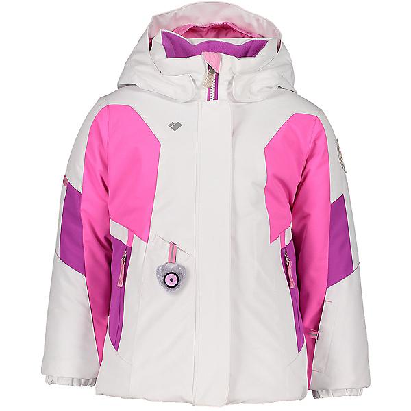 Obermeyer Harper Toddler Girls Ski Jacket 2021, White, 600