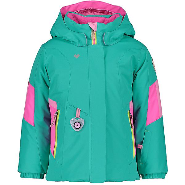 Obermeyer Harper Toddler Girls Ski Jacket 2021, Off Tropic, 600