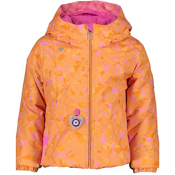 Obermeyer Iris Toddler Girls Ski Jacket 2021, Cartwheel Sun, 600