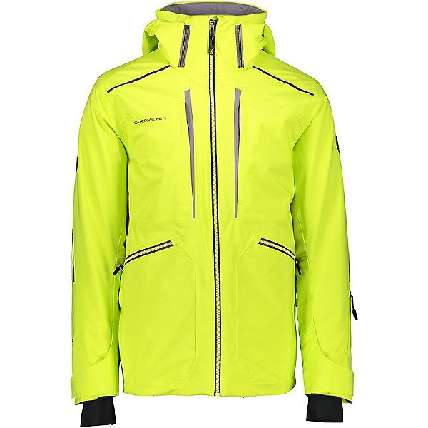 Obermeyer Kodiak Mens Insulated Ski Jacket 2021, Limelight, 600