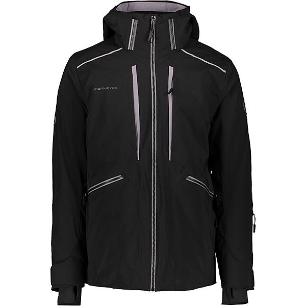 Obermeyer Kodiak Mens Insulated Ski Jacket 2021, Black, 600