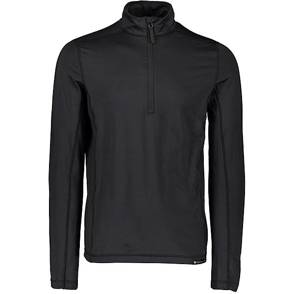 Obermeyer Lean 1/2 Zip Mens Long Underwear Top 2021, Black, 600