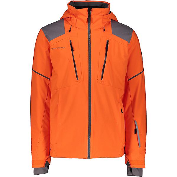 Obermeyer Foundation Mens Insulated Ski Jacket 2021, Habanero, 600