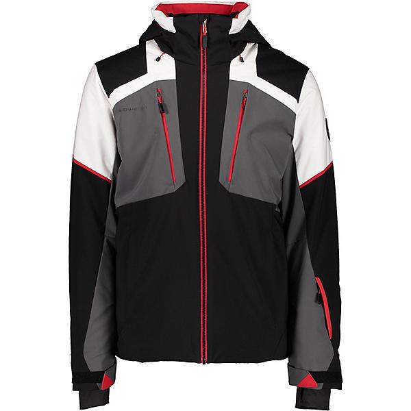 Obermeyer Foundation - Tall Mens Insulated Ski Jacket 2021, Black, 600