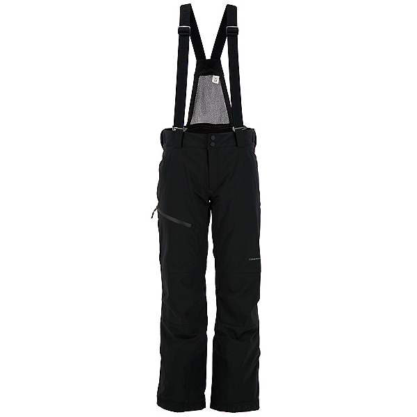 Obermeyer Force Suspender Mens Ski Pants 2021, Black, 600