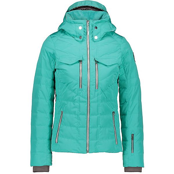 Obermeyer Devon Down Womens Insulated Ski Jacket, Off Tropic, 600