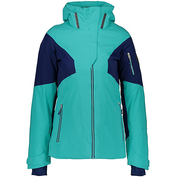 Obermeyer Yuki Womens Insulated Ski Jacket, Off Tropic, 600