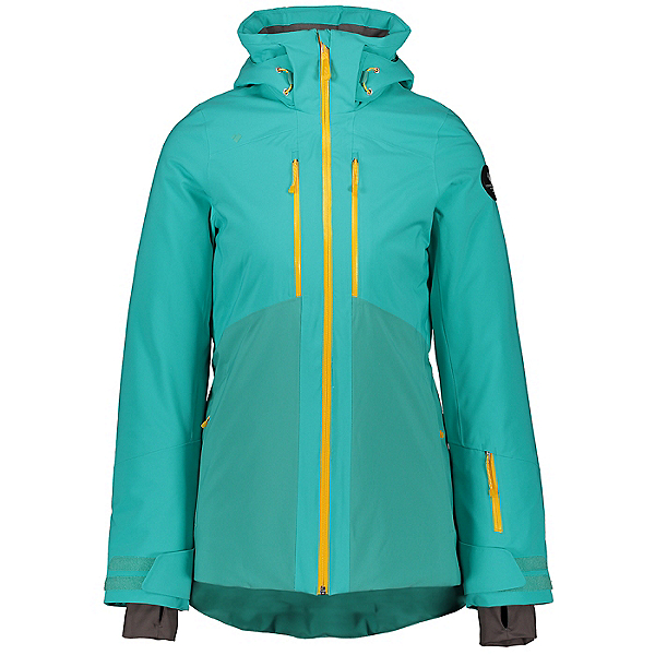 Obermeyer Cecilia Womens Insulated Ski Jacket, Off Tropic, 600