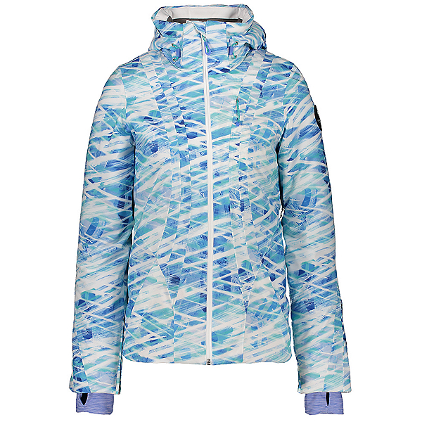 Obermeyer Jette Womens Insulated Ski Jacket, On Your Contrail, 600
