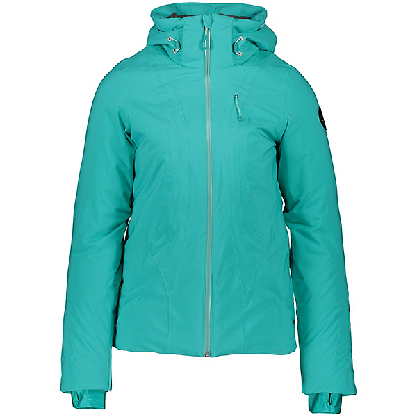 Obermeyer Jette Womens Insulated Ski Jacket, Off Tropic, 600