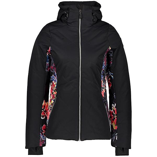 Obermeyer Lorena Womens Insulated Ski Jacket, Black, 600