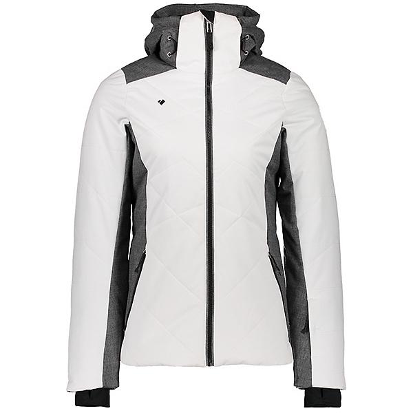 Obermeyer Lorena Womens Insulated Ski Jacket, White, 600