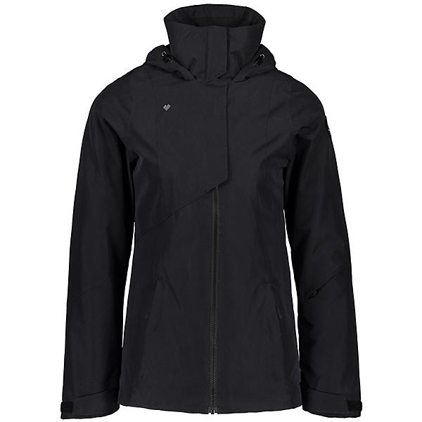 Obermeyer Teagan System Womens Insulated Ski Jacket, Black, 600