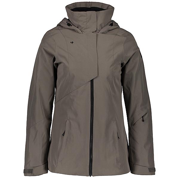 Obermeyer Teagan System Womens Insulated Ski Jacket, Suitable Grey, 600