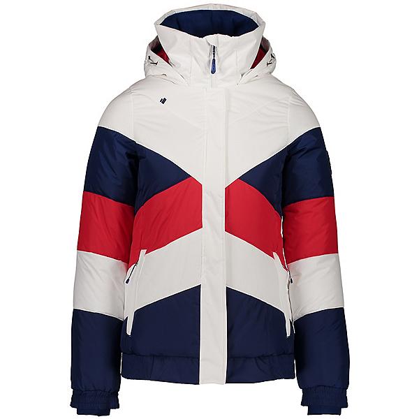 Obermeyer Jacqueline Womens Insulated Ski Jacket, White Ii, 600