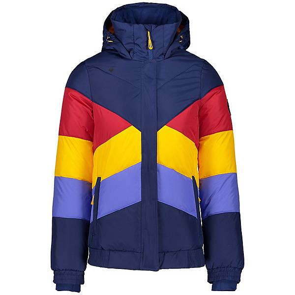 Obermeyer Jacqueline Womens Insulated Ski Jacket, Navy, 600