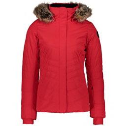 Obermeyer Tuscany II Faux Fur Womens Insulated Ski Jacket 2021