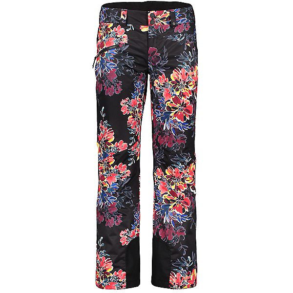 Obermeyer Malta - Long Womens Ski Pants, Boom Blooms, 600