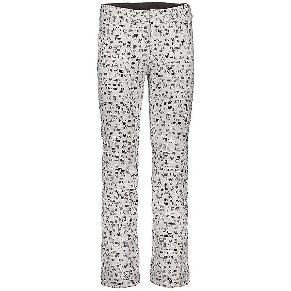 Obermeyer Printed Bond Womens Ski Pants, White Out, 600