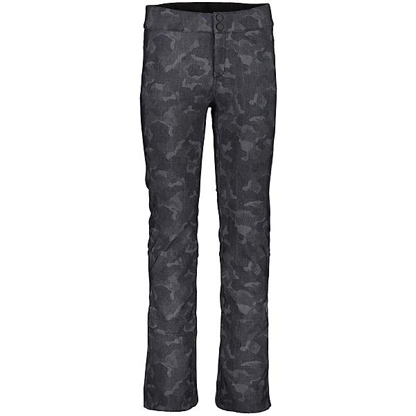 Obermeyer Printed Bond - Short Womens Ski Pants, Dark Denim Camo, 600