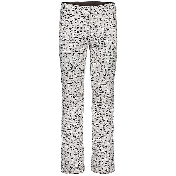 Obermeyer Printed Bond - Long Womens Ski Pants, White Out, 600