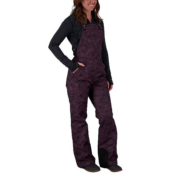 Obermeyer Malta Bib Overall Womens Ski Pants 2022, Magnetic Camo, 600