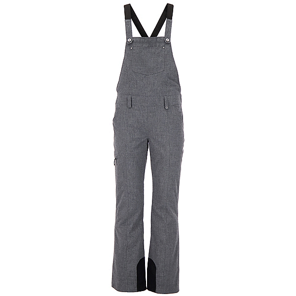 Obermeyer Malta Bib Overall - Short Womens Ski Pants, Charcoal, 600