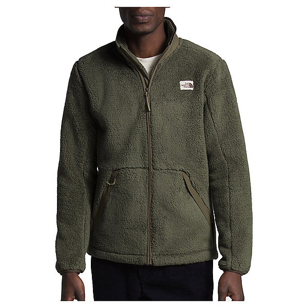 The North Face Campshire Full Zip Mens Jacket, Burnt Olive Green-New Taupe Gr, 600