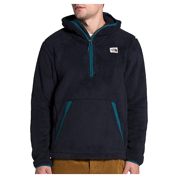 The North Face Campshire Pullover Mens Hoodie, Aviator Navy-Mallard Blue, 600