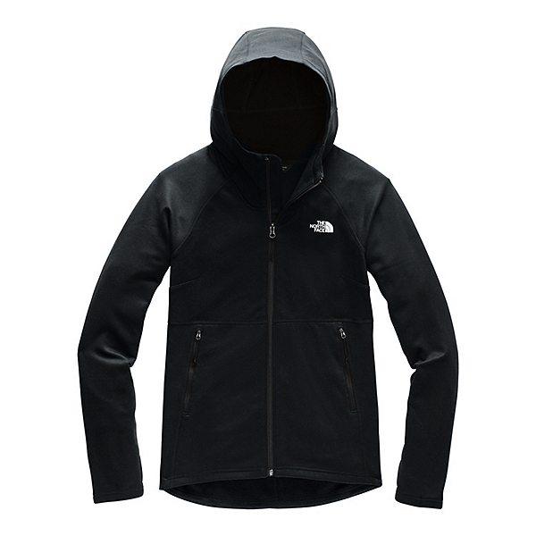 The North Face Canyonlands Womens Full Zip Hooded Jacket, TNF Black, 600