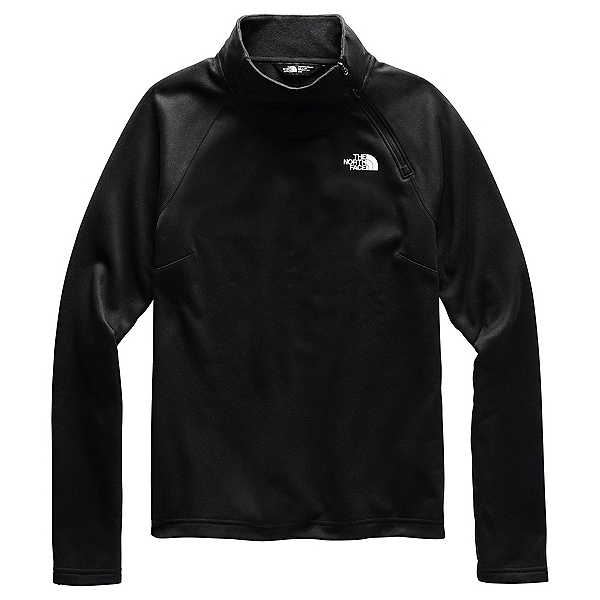 The North Face Canyonlands 1/4 Zip Womens Mid Layer, TNF Black, 600