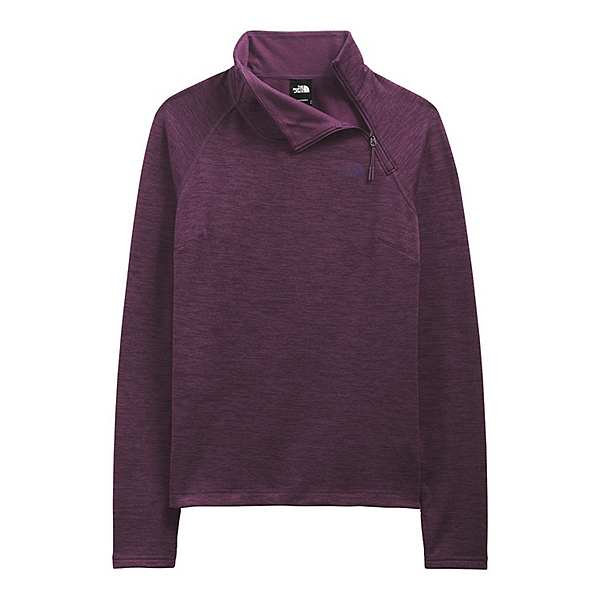 The North Face Canyonlands 1/4 Zip Womens Mid Layer 2022, Blackberry Wine Heather, 600
