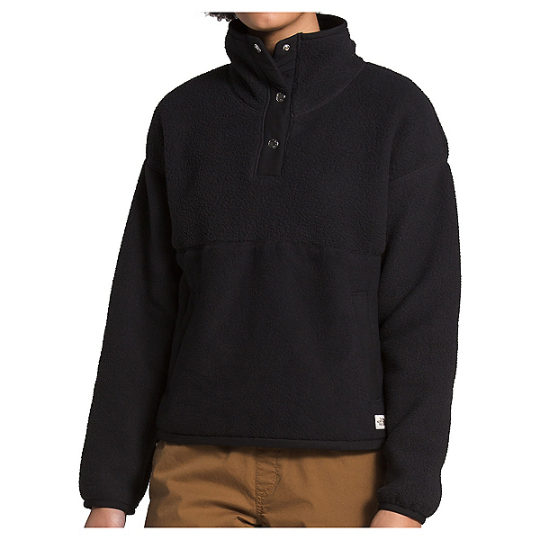 The North Face Cragmont Fleece 1/4 Snap Womens Mid Layer, TNF Black, 600