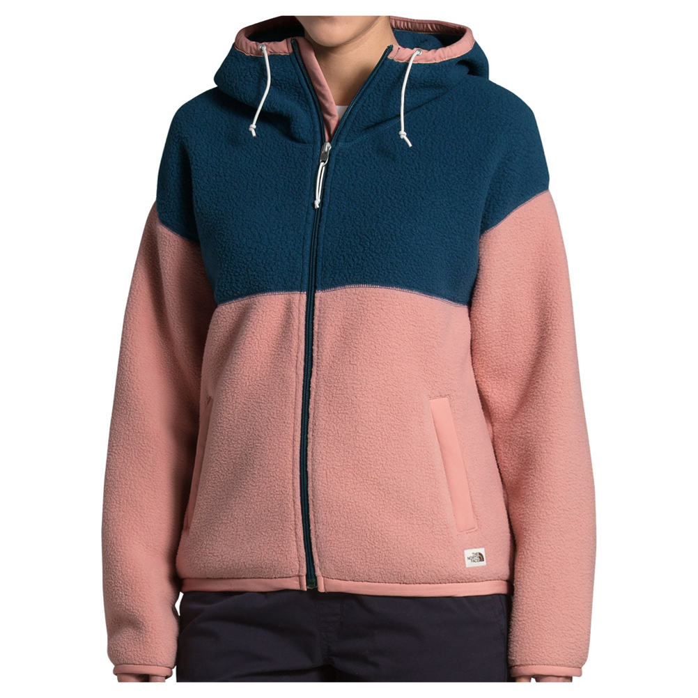ZKOO Softshell Damen Wasserabweisend Atmungsaktiv Outdoor Jacke Slim 2-Lagen Fleece Hoodie Regenjacke Funktionsjacke Herbst und Winter