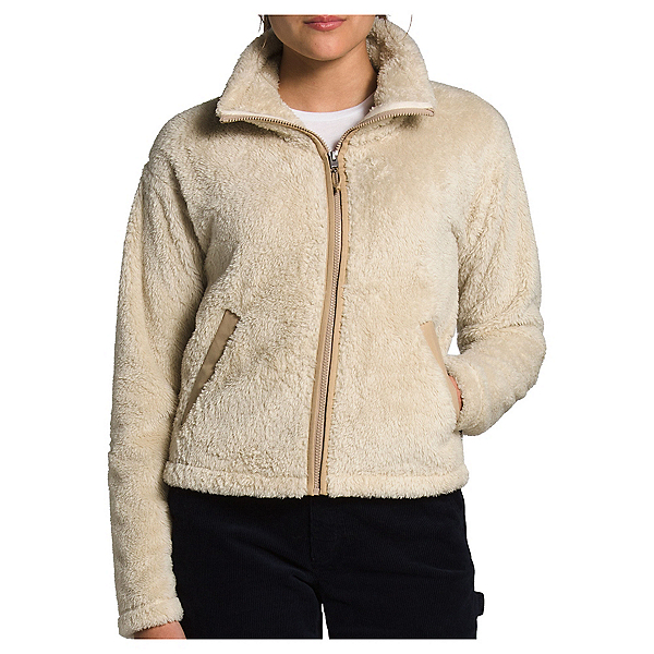 The North Face Furry Fleece 2.0 Womens Jacket, Bleached Sand-Hawthorne Khaki, 600