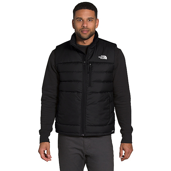 The North Face Aconcagua 2 Mens Vest 2022, TNF Black, 600