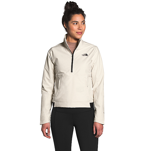 The North Face Shelbe Raschel Pullover Womens Soft Shell Jacket, Vintage White, 600