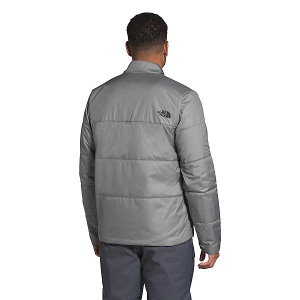 The North Face Powderflo Insulated Mens Jacket, TNF Medium Grey Heather, 600