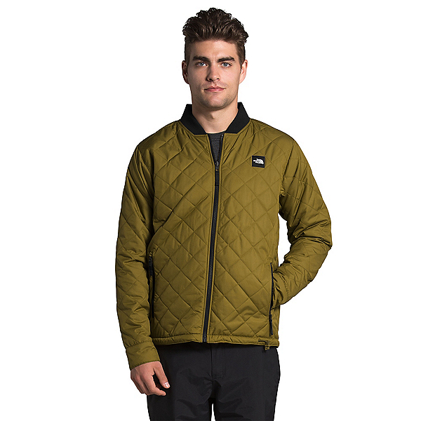 The North Face Jester Reversible Mens Jacket, Fir Green-TNF Black Flower Chi, 600