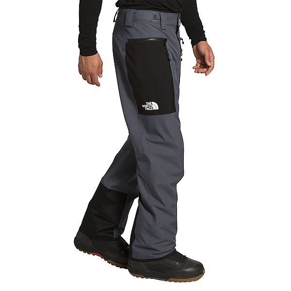 The North Face Sickline Mens Ski Pants, Vanadis Grey-TNF Black, 600