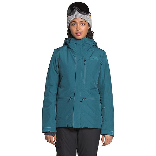 The North Face Gatekeeper Womens Insulated Ski Jacket, Mallard Blue Heather, 600