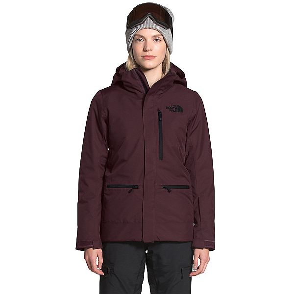 The North Face Gatekeeper Womens Insulated Ski Jacket, Root Brown, 600